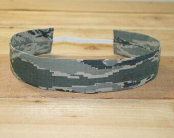 ABU Air Force Adult Headband Military Digital Tiger Stripe Camo