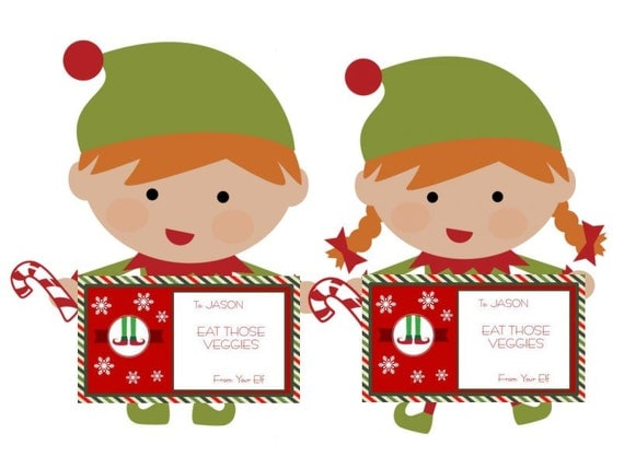 DIY Editable & Printable Elf Notes