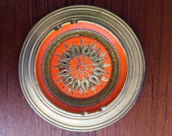 Vintage Bitossi Starburst Tray