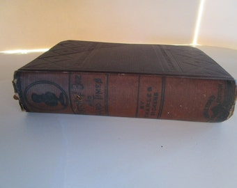 Sketches by  Boz and Hard Times by Charles Dickens Carleton's Illustrated Edition 1881 Classic Antique Books