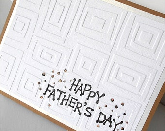 Father's Day Greeting Cards: Handmade Blank Note Card (Batch No.2) - Traffic Jam