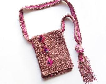 Poppy Handbag - Beautiful handmade purse with poppies design