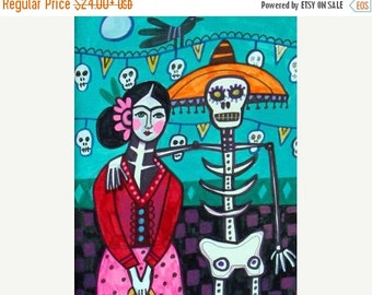 55% Off- Day of the Dead, Mexican Folk Art