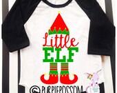 Little Sister Brother Christmas Pregnancy Announcement Shirt Big Sister Christmas Theme Raglan Shirt Big Sister Surprise Shirt Christmas