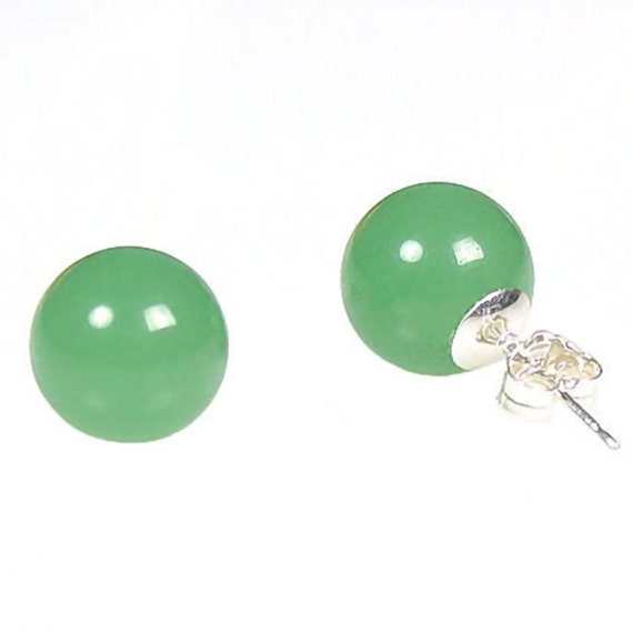 8mm Natural Jade Ball Stud Earrings Jade Aventurine Stud. Popular Watches. Cooper Rings. 10 Karat Gold Earrings. Leverback Earrings. Military Rings. Used Gold Jewellery. Fluted Bezel Watches. Angel Wing Lockets