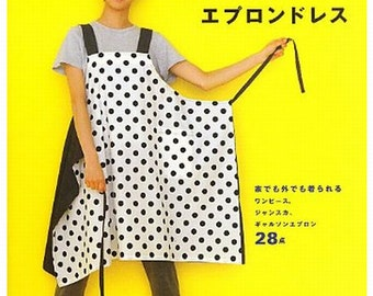 Straight Stitch Apron and Apron Dresses  bu Yoshiko Tsukiori Japanese Craft Book