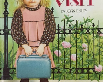 Eloise Wilkins Book THE VISIT Joan Esley 1980 Large size book 32 pages illustrated excellent cond, prev owner name