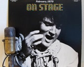 "ON SALE Elvis Presley Vinyl Record Albums 1970s LIVE Rock and Roll Pop Southern ""On Stage: February, 1970"" (1970 Rca w/""See See Rider"", ""Yes"