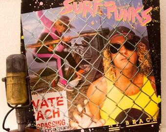 "Surf Punks Vinyl Record Albums LP 1980s Malibu California SoCal Surf Punk Pop Alternative Rock and Roll ""My Beach"" (1980 Epic w/'My Beach"")"