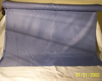 10 yds.blue satin fabric