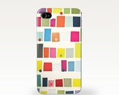 SALE 10% OFF Geometric Phone Case for 4/4s, 5/5s, 5c, 6, 6 Plus and Samsung Galaxy S3, S4 Abstract Buildings. Mid Century modern. Pattern. C