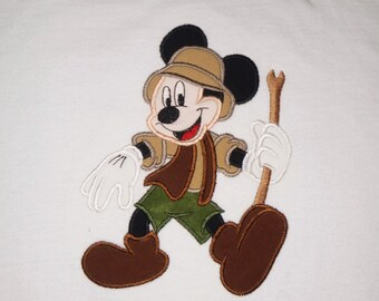 Outback Mister Mouse appliqued shirt