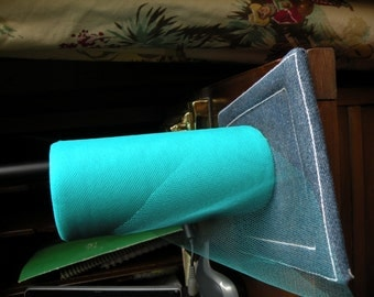 Turquoise Jade Tulle 6 in wide X 25 Yds.