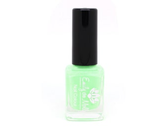 "Stamping polish - ""Light Neon Green"" neon stamping polish"