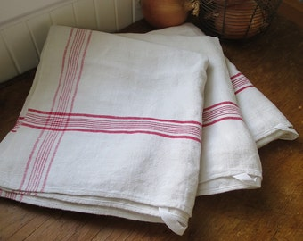 ONE Vintage French Linen Hand Towel