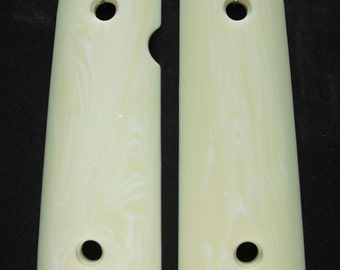 Ivory 1911 Grips (Compact)
