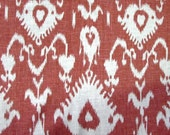 BRISTOW CRANBERRY ikat home decor print multipurpose fabric by Kravet