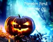 PUMPKIN FIEND Perfume Oil - Dark Pine, Balsam Fir, Pumpkin, Moss, Cardamom, Dry Leaves, Dark Spice - Halloween Perfume- Fall Fragrance