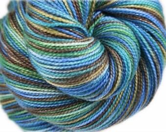 TURTLE BAY  Superwash Merino Wool/Nylon/Stellina Fingering Weight Yarn