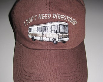 "beige only left  baseball/polo caps with class a logo. I don""t need dir. or rv there yet. specify logo and color please"