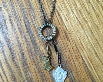 Vintage St. Joseph Necklace