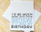 Funny Birthday Card - Friend Birthday Card - Happy Birthday Card - Best Friends Birthday Card - BFF Birthday Card - Birthday Card