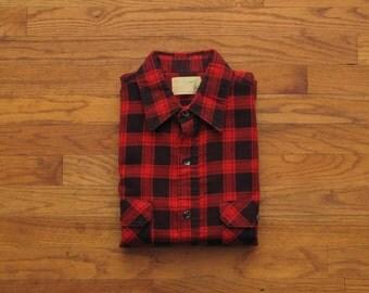 mens vintage Fieldmaster flannel shirt