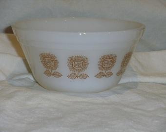 Vintage Federal Sunflower Bowl