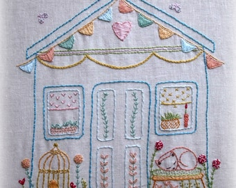 My wonky shed embroidery pattern pdf