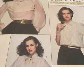 Vogue RENATA blouse pattern