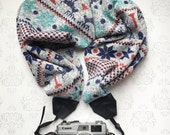 Sweater Scarf Camera Strap, DSLR Camera Strap, Winter, Extra Long, Nikon, Canon, DSLR Photography, Wedding Photographer - Christmas Sweater