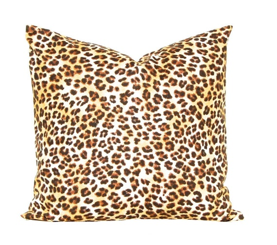 Leopard Pillow Decorative Throw Pillow Covers by CompanyTwentySix