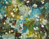 Large abstract Painting  large contemporary painting 24 x 20  April Blessings Swalla Studio