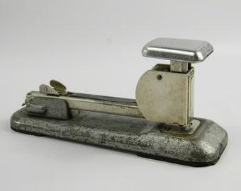 Vintage Arrow Stapler Fastener 202 Office Supplies Industrial Distressed Metal 1940s