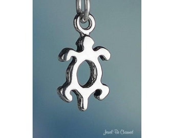 Sterling Silver Petroglyph Turtle Charm Small Native American .925