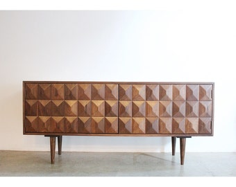 Modern Credenza / Custom Made / Mid Century Style