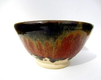 Wheel thrown bowl-#1