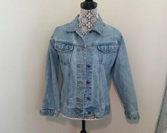 Vintage Classic Denim Jean Jacket