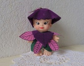 Petal People Doll named Orchid. Made by Uneeda in 1983