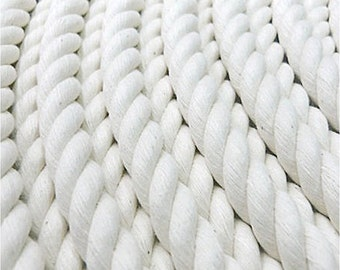 100% Cotton Rope cord, 3 strand