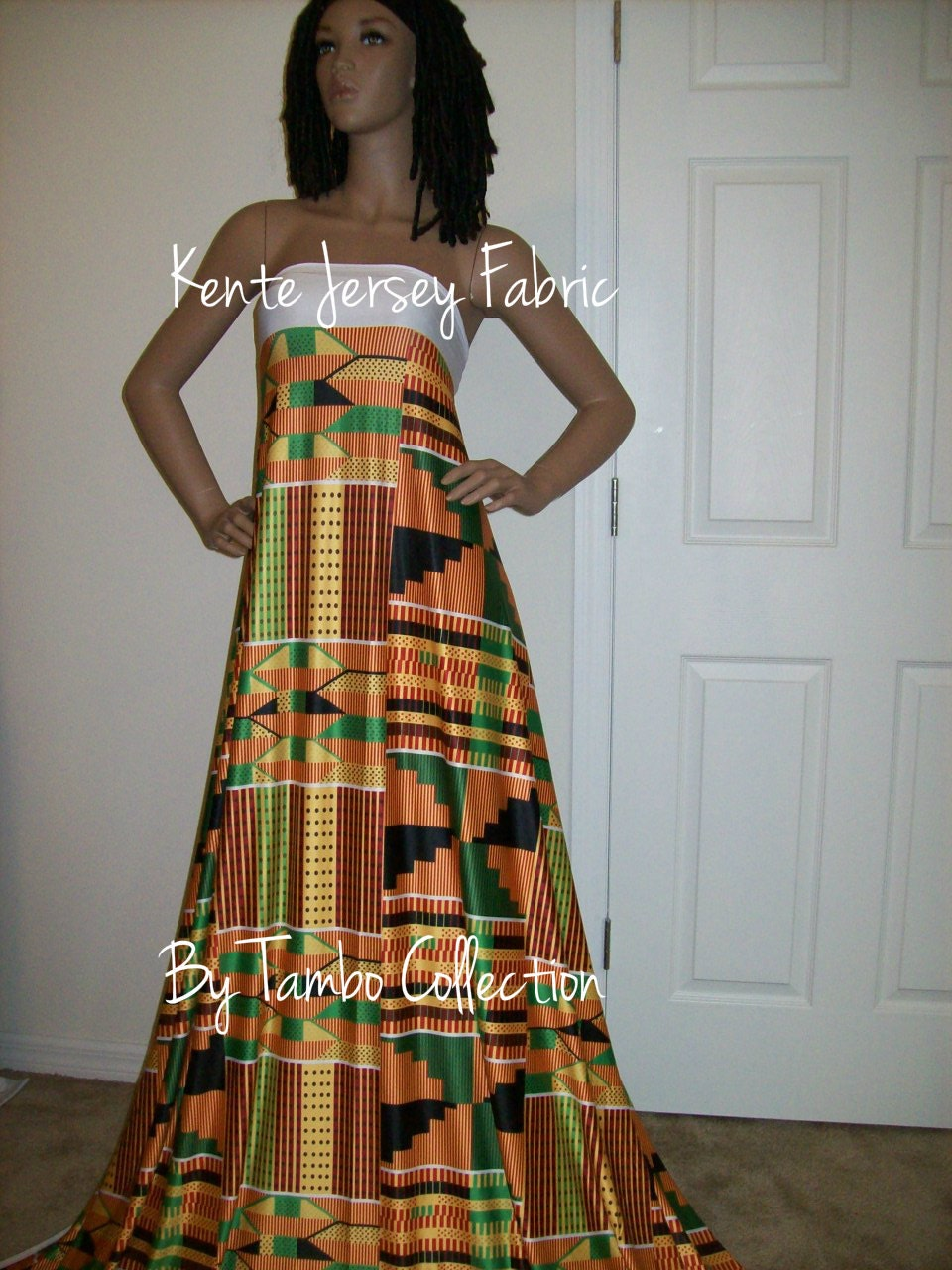 6 yards 80 inch wide ghana stretch jersey kente 2 african fabric traditional kente print in. Black Bedroom Furniture Sets. Home Design Ideas