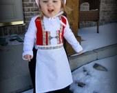 3 PIECE Norwegian bunad Folk Dress Traditional NORWEGIAN Bunad dress Scandinavan Folk dress, apron and bonnet