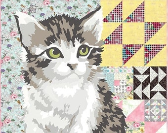 Meow or Never - Quilt Top Kit by Erin Michael for Moda Fabrics Complete Listing before actvating