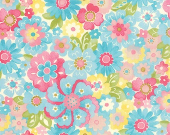 Colette - Blossom in Sky by Chez Moi for Moda Fabrics
