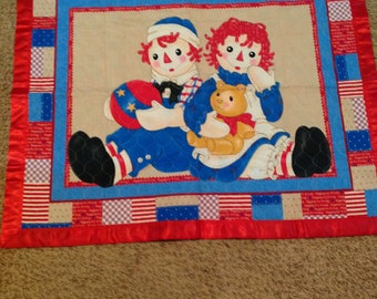 Quilt, Raggedy Ann & Andy, blanket