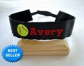 Softball Headband Adjustable NO SLIP Hair Bands PERSONALIZED you Choose Prints Many Sports and Patterns Available