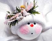 Praying Angel Ornament Lamb Christmas Townsend Custom Gifts