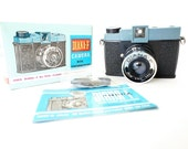 Working Vintage Diana-F Plastic Lomo Camera w/ Original Box and Manual - Film Tested