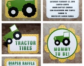 John Deere Tractor Theme Party Set