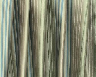 Peacock Blue Velvet Curtain 52x84 Rod Pocket Curtain By Fabricmart
